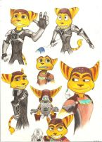 Ratchet, Ratchet and Clank by Alevire
