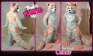 Candy Fullsuit Commission by ThatsFurredUp