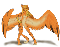 Art Trade - Gryphon by SanchaySquirrel