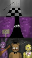 Freddy's nose squeaks  by kittychan1997