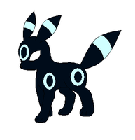 Whisper the Umbreon by lozix