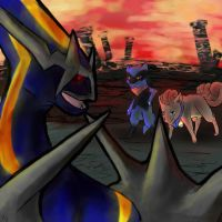 Showdown on Temporal Tower by emptyvoids