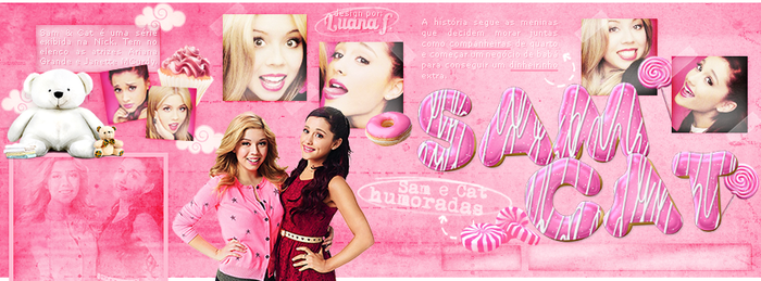 Facebook Cover: Sam and Cat by LuanaF