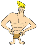Johnny Bravo as Tarzan Boy by dev-catscratch