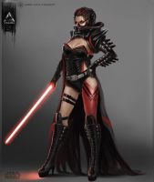 4 1She-Lord Sith 3 by YENIN