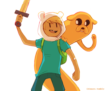 Adventure Time by ikimaru-art