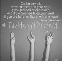#TheHeartProject by EnderWings909