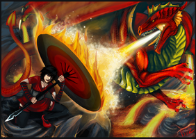 Kanaya vs. Drago by Serpentwined