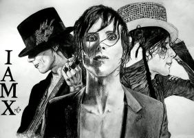 Triple Chris Corner - IAMX - by NemoraliaEgnever