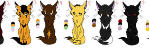 Warrior Cats Adopts- CLOSED by Rav3nRav3Rul3r
