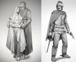 Character designs by mannequin-atelier