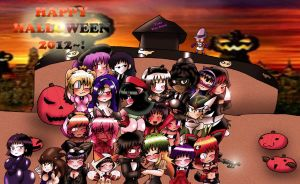 Happy Halloween 2012 by Rokku-D