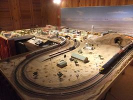 HO Layout Overview (Corner 4) by SouthwestChief