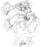 Twilight Princess Link by gambitgurlisis