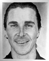 Christian Bale - My first portrait by marcandrej