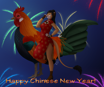 [P]Happy Chinese New Year by ZahrahLioness