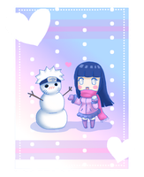 NaruHina: Snow by AnimeWaterFall