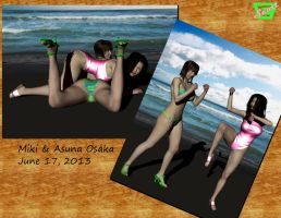 Osaka Sisters Beach Photos by ImfamousE