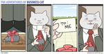 The Adventures of Business Cat - Gift by tomfonder