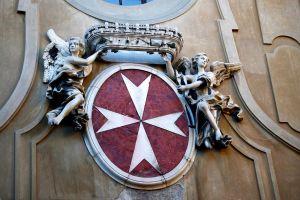 Emblem, Sovereign Military Order of Malta by Nonparellis