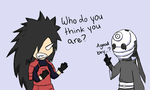 Halloween: Madara and Tobi by LeLe37