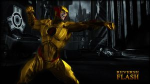Reverse Flash Wallpaper by BatmanInc