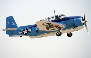 TBM Avenger Takeoff by shelbs2