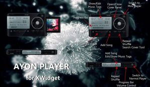 Ayon Player MOD for xwidget by jimking