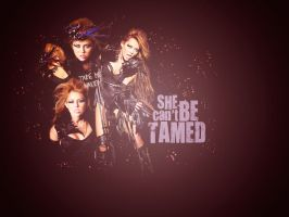 She Can't Be Tamed Wallpaper by Electroshoqq