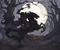 The Headless Horseman by IrenHorrors