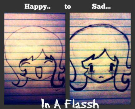 Happy to Sad in a FLASSH by Love4Music12