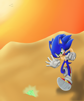 CE: Sonic Running by SQuietSonamy