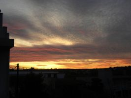 sunset clouds 5 by voyagerartworkdesign