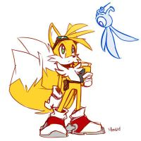 Tails Doodle by EVMousser