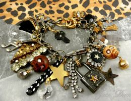 Rock star charm bracelet by janedean