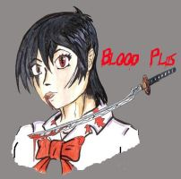 Saya -- Blood Plus + by IgaNinja