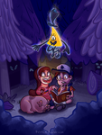 DIPPER LOOK AT MY FACE LOOK AT IT DIPPER by Rezllen