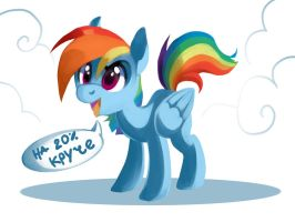 Rainbow Dash: Up to 20% cooler by TypicalUP