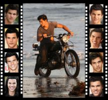 Taylor Lautner Filmstrip by Mistify24