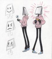Object Head 001 by d0nkarnage