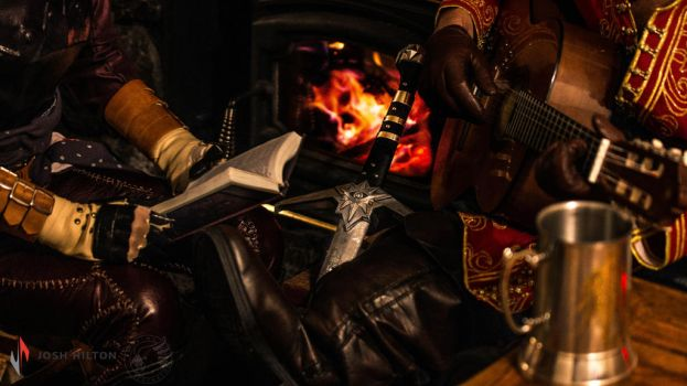 By the Fire - Dragon Age Cosplay by ammnra