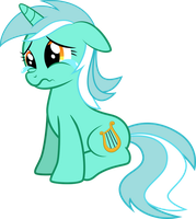 Sad Lyra vector by kyrospawn