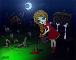 Zombie Farm :: Colored Version by GhaythFuad
