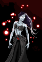 Dryad of Death Undead by BBMacToma
