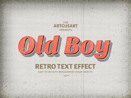 10 Retro Text Effect v.1(10) by artgusart