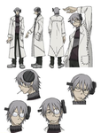 Soul Eater Dr. Stein Profil ID by DeathTheMifune
