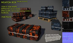 Weapon Box pack 3 by Yughues