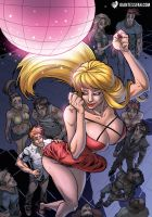 Mini-Giantess in Da Club by giantess-fan-comics