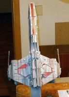 E-Wing Top View by Inquisitor-Hein