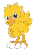 Young Chocobo by GDMonster